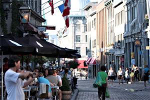 Saint Paul Street in Montreal