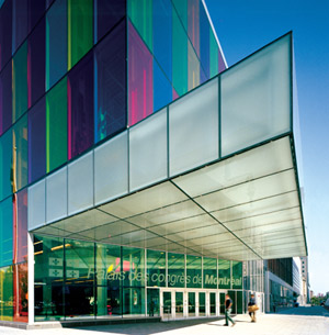 Palais des Congrès de Montréal. © Marc Cramer / Palais des congrès de Montréal