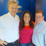 Discussing Holiday Party Etiquette with Bob Sirott and Marianne Murciano during WGN Business Lunch Hour