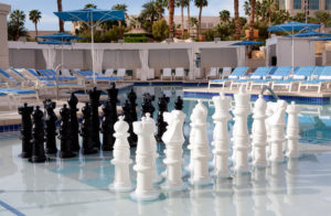 Delano Beach Club - Chess Board  (courtesy image MRM Resorts International)