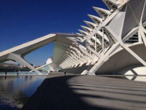 Principe Felipe Science Museum at City of Arts and Sciences in Valencia